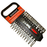 1/4 Inch 25pcs Socket Wrench Set, 50% Lower Than Store!