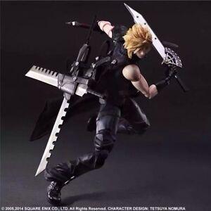 "NEW Play Arts Kai Cloud Strife ""Final Fantasy VII"" Action Figure Kitchener / Waterloo Kitchener Area image 2"
