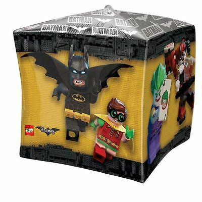 LEGO Batman Cubez Foil Balloons DC Superhero Birthday Party - Lego Batman Party Decorations