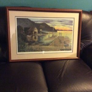 Limited edition print called twilight cruise