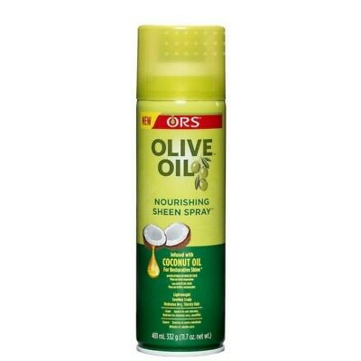 ORS Olive Oil Nourishing Sheen Spray w/ Coconut Provides Healthy Sheen 11.7oz ()