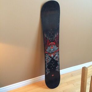 Burton snowboard with bindings & boots