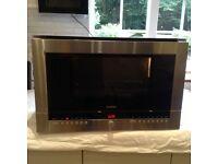 Siemens stainless steel built in microwave model no HF25M560