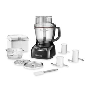 Kitchen Aid 13 Cup Food Processor in Onyx Black Windsor Region Ontario image 1