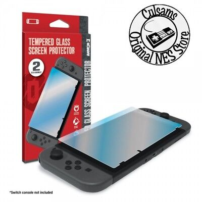NEW 2-Pack Tempered Glass Screen Protector for Nintendo Switch