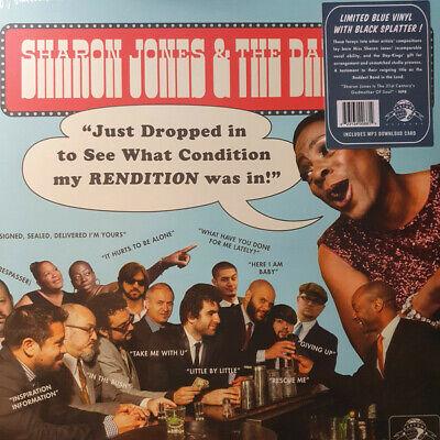 SHARON JONES+THE DAP KINGS rare RSD20 Black Friday SPLATTER VINYL COVERS LP+mp3