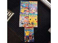 Pokemon comic books