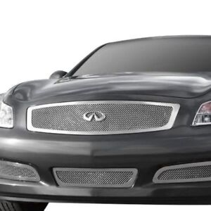 2007 - 2008 G35 INFINI T-Rex 54809 - Polished Stainless Grille