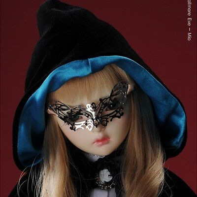White Ahchoo Mask Dollmore 1//3 BJD Accessory  SD Size