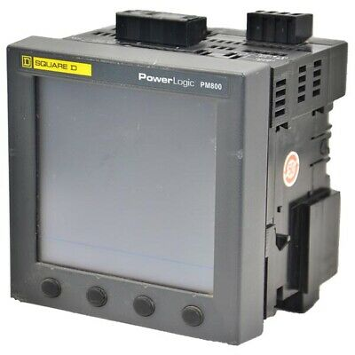 Pm870 Schneider Electric Power Meter W Integrated Display --sa