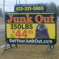 JUNK OUT ONLY $44.95