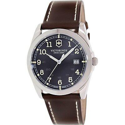 blem Victorinox Swiss Army Infantry Black Dial Mens Watch 241563