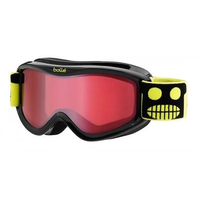 New Bolle AMP youth ski goggles kids childs snowboard eye protection snow Black