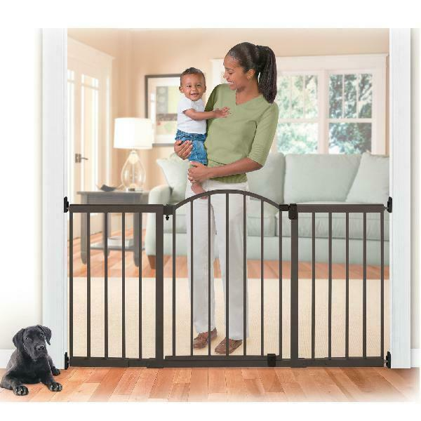 Summer Infant Metal Expansion Gate 6 Foot Wide Extra Tall Wa