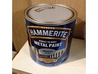 Hammerite silver smooth 2.5l metal paint New and not opened