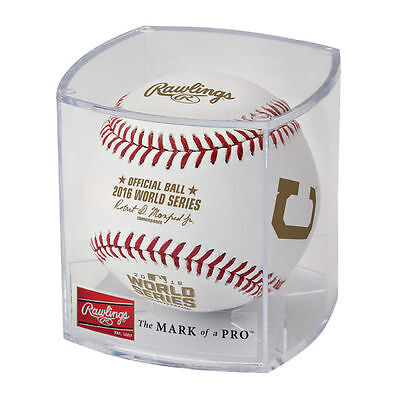 Cleveland Indians Chicago Cubs Rawlings 2016 World Series Dueling Baseball Cubed Chicago Cubs Baseball Cube