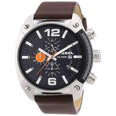 Latest Diesel Men's DZ4204 Advanced Watch with Brown Leather  Bind