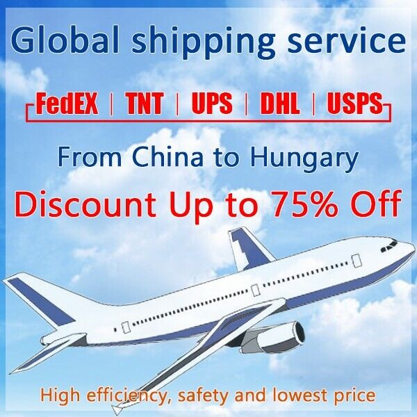Discount FedEx/TNT/UPS Shipping label from China to Hungary fast shipping