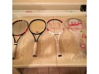 Tennis Rackets for sale, cheapest on the web!