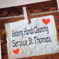 Helping Hands Cleaning Service ...St Thomas area