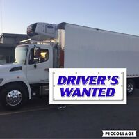 Part time Occassional replacement delivery driver