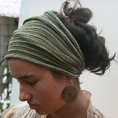 Dreadlock Head Band/Hair Wrap/ Dreads Rasta/ Hippy/ Festival 29 NEW Colours