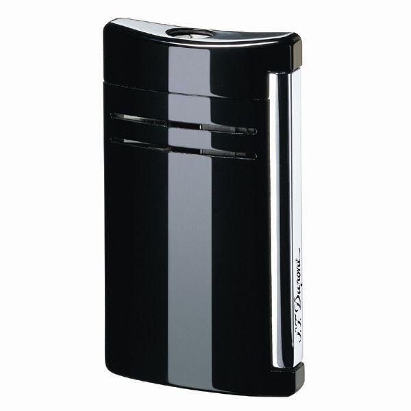 S.T. Dupont MaxiJet Torch Lighter, Black As Night, # 20104N (020104N) New In Box