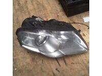Vw b6 Passat drivers headlight 2005-2010 model