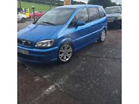Zafira gsi turbo stunning 7 seater May swap