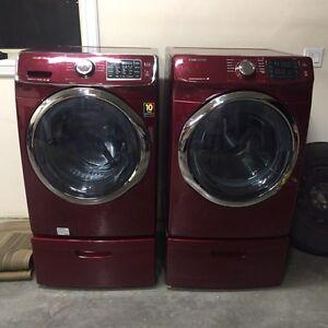 New samsung washer dryer