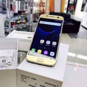 NEW REFURBISHED S7 32GB GOLD BLACK UNLOCKED TAX INVOICE Surfers Paradise Gold Coast City Preview