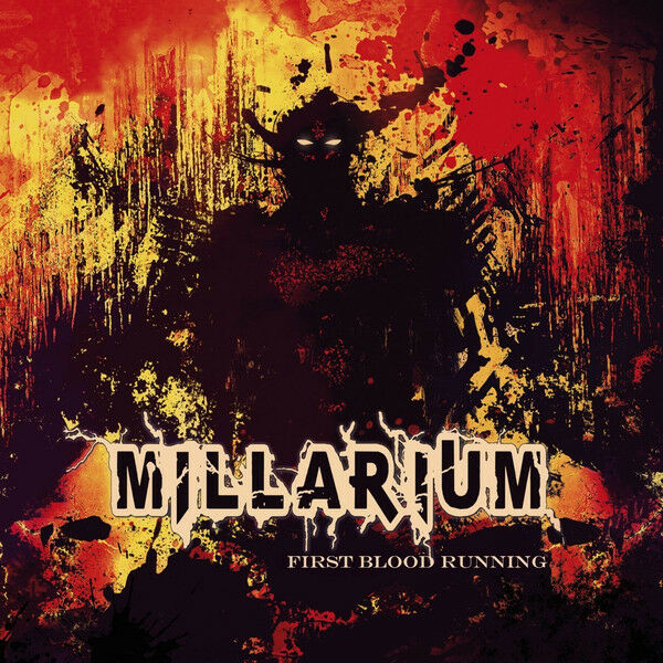 Millarium - First Blood Running (2015)  CD  NEW/SEALED  SPEEDYPOST