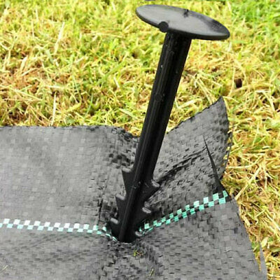 1000 Anchor Pegs Weed Control Fabric Membrane Securing Ground Cover Fixing 150mm