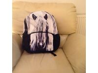 "Backpack, by Puzzled by Iceland. 17"". Brand new with tags."