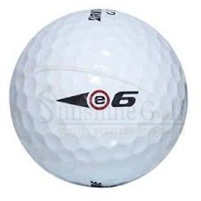 24 NEAR MINT Bridgestone e6 AAAA Used Golf Balls