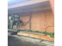Cilcoed sawmill / Tree planking services / Wood / timber