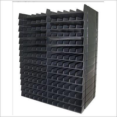 Crafters Companion Spectrum Noir Ink Pen BLACK Storage Unit 14 trays for 168 pen