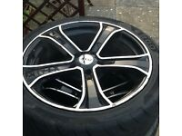 Zcw tyres and rims