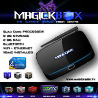 The MagickBox X4 Quad Core Android TV Media Box ! XBMC Gotham