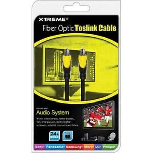 3 Xtreme Fiber Optic Toslink Cable - 73503
