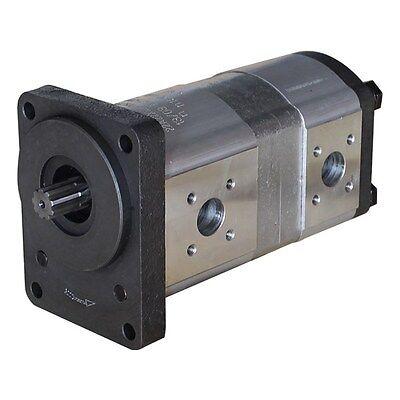 Hydraulische Doppelpumpe Tandempumpe Hydraulikpumpe OEM 062976T1  22+8, ccm MF