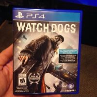 PS4 Watch Dogs brand new