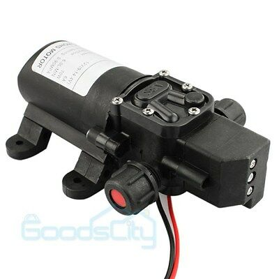 130 Psi 6lmin Water High Pressure Diaphragm Self Priming Pump Dc 12v 70 W Usa
