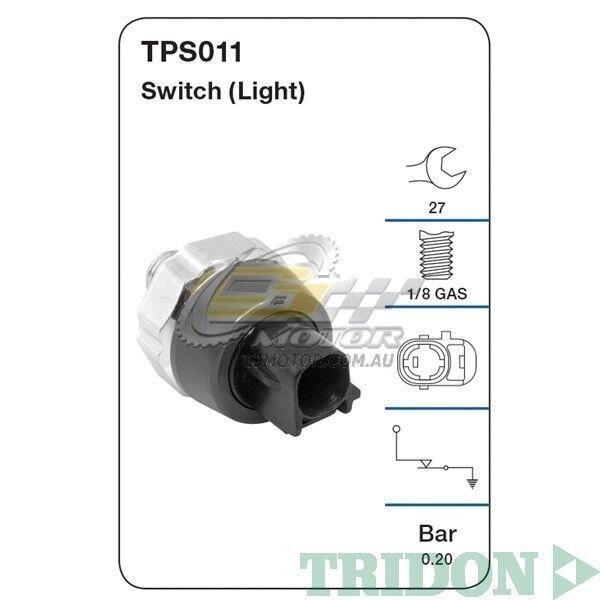 TRIDON OIL PRESSURE FOR Lexus IS250 11/05-01/11 2.5L(4GR-FSE) DOHC 24V