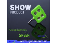 ICANANY HIGH POWER GREEN LED SYNC FLASH IPAD IPHONE & ANDROID DEVICES SMARTPHONE