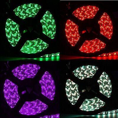 SUPERNIGHT®  5M 3528  5050 SMD 300LEDs 150LEDs Light Strip Black PCB Waterproof