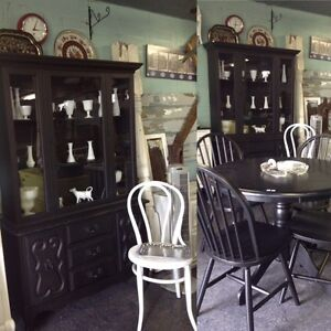 VINTAGE refinished China hutch $560 this week!