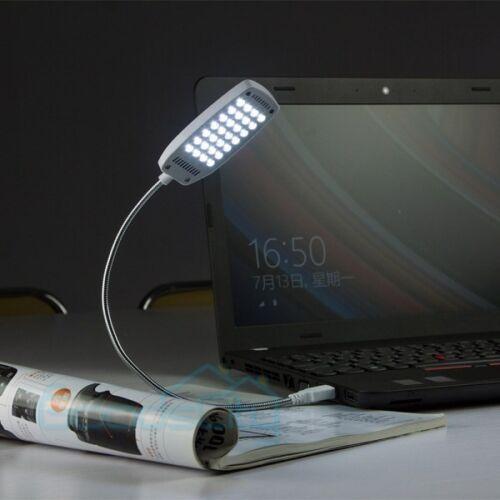 Flexible Mini Light Bright 28 LED USB Computer Lamp Laptop PC Desk Reading