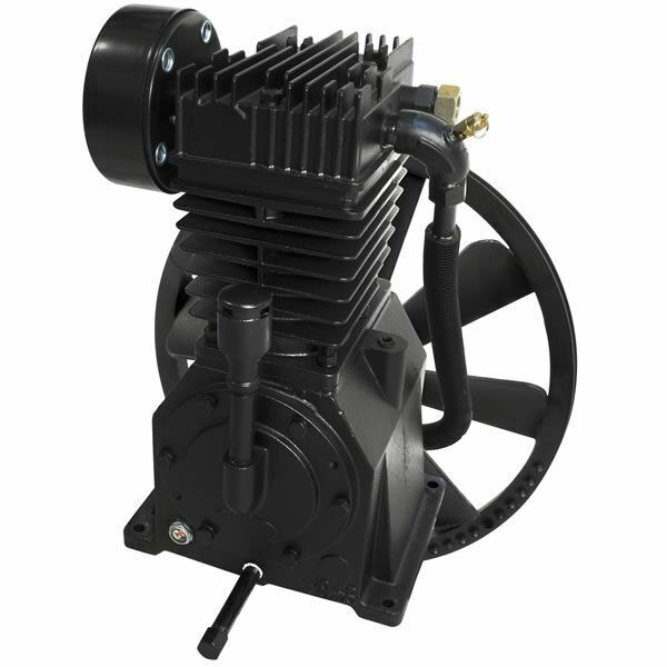Industrial Air 5-hp 2-stage Inline-twin Replacement Air Compressor Pump (17 C...