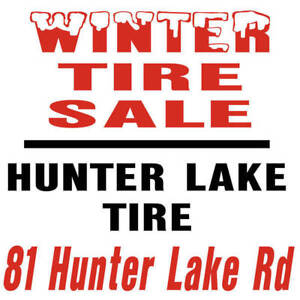 WINTER TIRE SALE ON SETS OF 4 TIRES TAX INCLUDED
